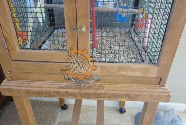توری مش گالوانیزه در ساخت قفس